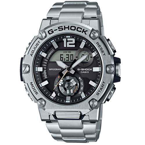 Casio G-Shock G-Steel - Reloj de hombre multifunción con correa de acero inoxidable y conexión Bluetooth - Ref. Gst-b300sd-1aer