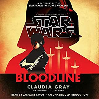 Star Wars: Bloodline - New Republic                   By:                                                                                                                                 Claudia Gray                               Narrated by:                                                                                                                                 January LaVoy                      Length: 12 hrs and 14 mins     3 ratings     Overall 5.0