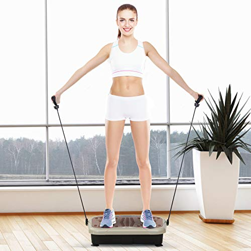 HOMCOM Vibration Plate Machine Fitness Body Shaper