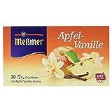 Meßmer Apfel/Vanille Tee 20 TB (55 g Packung)