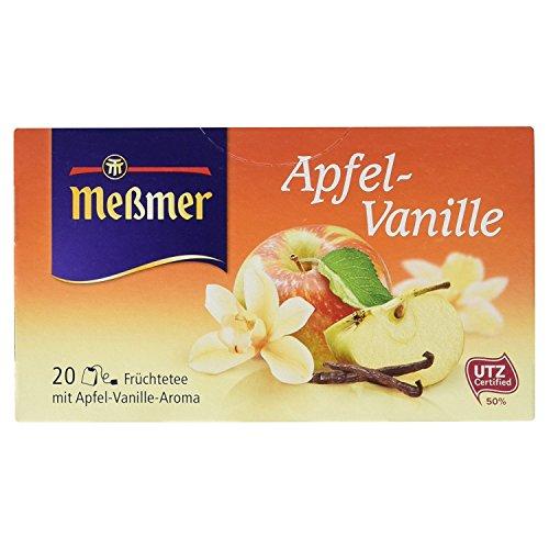 Meßmer Apfel/Vanille Tee, 20 Teebeutel