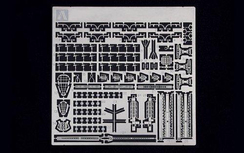 青島文化教材社 1/700 ウォーターラインシリーズ ディテールアップパーツ 日本海軍 摩耶1944 専用エッチング プラモデル用パーツ