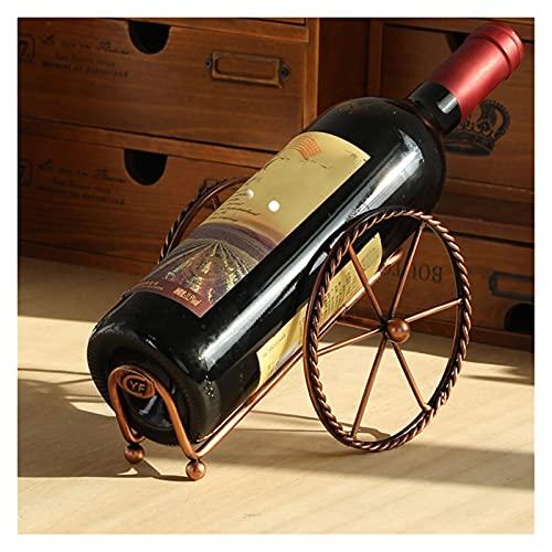 wuxia Soporte para botellas de vino, soporte para botellas de vino, decoración para bodas, fiestas, vinos, botellas