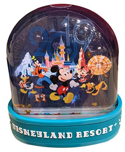 Theme Parks Disneyland Resort 2019 Mickey & Friends Plastic Snow Globe