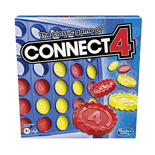 Classic Connect 4 Strategy Board Game for Ages 6 and Up