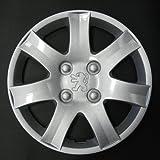 Wheeltrims Set de 4 embellecedores nuevos para Peugeot 206/106 / 306/406 / 806 / Ranch/Bipper con Llantas Originales de 14''