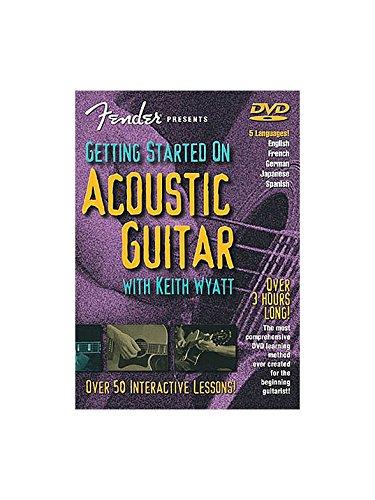 Fender Presents: Getting Started On Acoustic Guitar (DVD). Für Gitarre