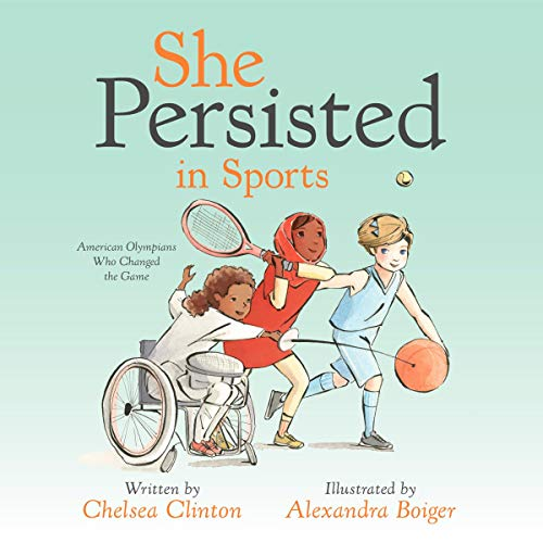 She Persisted in Sports cover art