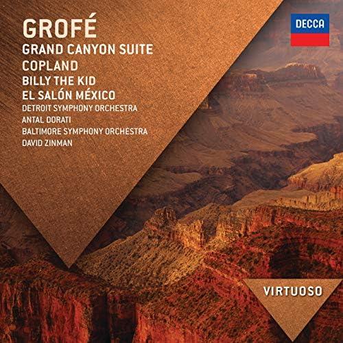 Detroit Symphony Orchestra, Antal Doráti, Baltimore Symphony Orchestra, David Zinman, Aaron Copland & Ferde Grofé