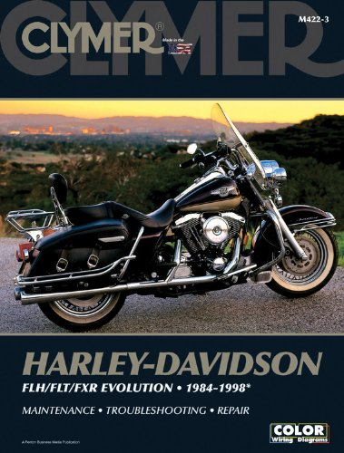 Harley-Davidson Road King, Electra, Tour Glide, Low Rider Motorcycle (1984-1998)