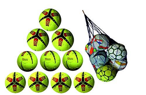Lisaro 10_Indoor-Fussball Indoorballpaket aus Echt valurleder