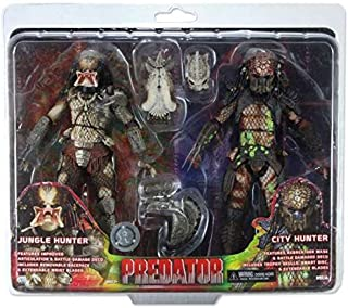 NECA Predator / Predator 2 Jungle Hunter & City Hunter Exclusive Action Figure