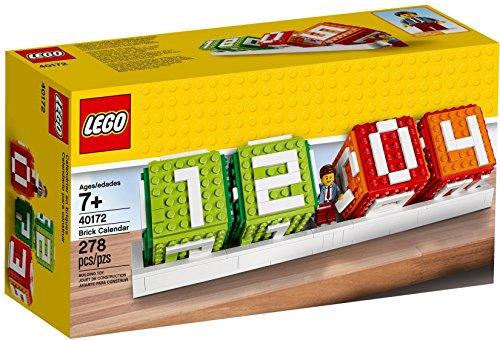 LEGO Iconic Brick Calendar 278pieza(s) juego de construcción - juegos de construcción (7 año(s), 278 pieza(s))