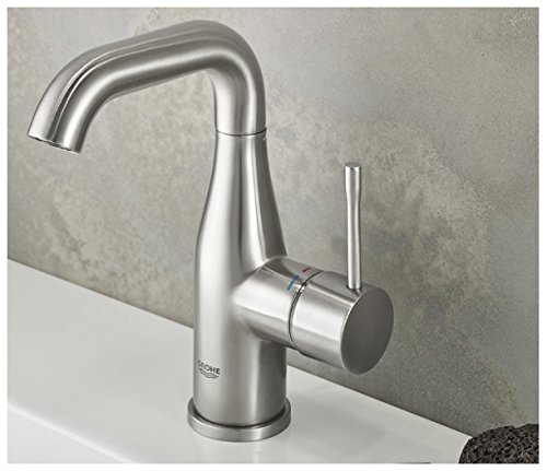 Grohe Essence New - grifo monomando lavabo 5,7l M - Brushed Warm...