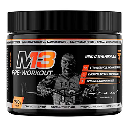 Trec Nutrition M13 Preworkout 270g Beta alanin koffein konzentration (Tropical)
