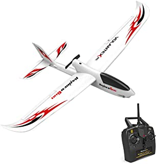 Volantex 761-2 2.4GHz 3CH RC Airplane RTF Glider 360° Flip Six Axis Gyroscope Powerful Motor EPP Material Simulation Remote Control Airplane for Beginners Best Gifts to Kids 14+
