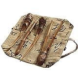 Bestlymood Natürliche Bambus Tee Werkzeuge Geschirr Set Enthalten Nadel L?ffel Clip Tee Infurse Vintage Handgefertigte