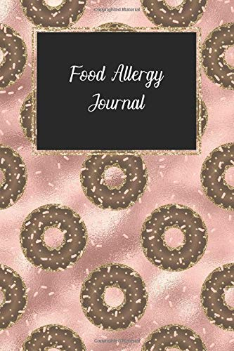 Food allergy journal: Food sensitivity journal, daily diary to track diet and symptoms to identify food intolerances
