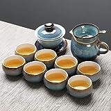 Juego de Tetera de cerámica Kung Fu Teacup