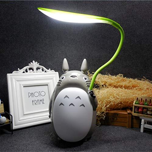 My Neighbor Totoro Led Night Light, Studio Ghibli Usb bed lichten voor de slaapkamer, tafellamp voor Best Gift For Kids, Kawaii Woondecoratie White,A