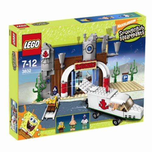 LEGO SpongeBobs 3832 - Fahrt im Krankenwagen