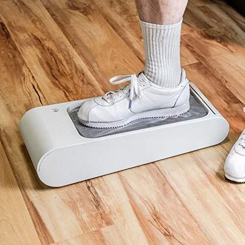 Dispensador Automático de Fundas para Zapatos, Membrana de Calzado Desechable, Polvo e Impermeable, Mantenga el Piso Limpio, para Familias, Hospitales, Laboratorios