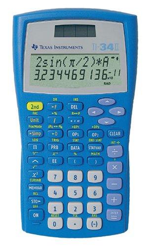 Texas Instruments TI 34 II Solar Taschenrechner