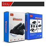XTR Station de Charge de Chargeur de Chargeur de Support de Ventilateur de Refroidissement de Console multifonctionnelle Slim pourJeux PS 4 Slim Pro, PS4 Pro, Noir