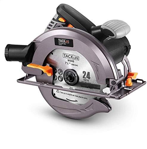 Circular Saw, TACKLIFE 4700RPM 1800W Upgraded Compact...