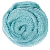 Soft and Smooth Wool: Made of high quality exquisite and durable fiber wool, no lumps and no random junk, safe and eco-friendly for everybody use, best selection of DIY crafts materials. Specially good for detail work or small pieces Perfect for Diff...