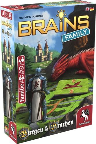Pegasus Spiele Brains Family 51811G - Castillos y Dragones