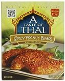 A Taste of Thai Spicy Thai Peanut Bake, 3.5-Ounce Packets (Pack of 12)