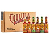 Cholula Hot Sauce 5 fl oz Variety Pack, 6 count   Original, Green Pepper, Chipotle, Chili Garlic, Chili Lime and Sweet Habanero   Crafted with Mexican Peppers and Signature Spice Blend   Great Hot Sauce Lover Gift Set   Gluten Free, Kosher, Vegan, Low Sodium, Sugar Free   Best Thing to Ever Happen to Food   Perfect Balance of Flavor and Heat