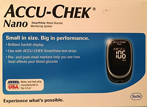 Accu-Chek Accu-Chek Performa Nano Glucose Monitor Kit Glucometer - Mesuring Method: Mg/Dl
