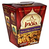 A Taste of India Spiced Rice and Raisins, 6-Ounces (Pack of 6)