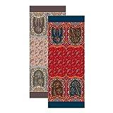 Bassetti Miracoli R1 Rosso 9314511 - Camino de Mesa (100% algodón, 50 x 150 cm)