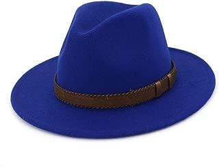 LiWen Zheng Men Women Wool Fedora Hat With Leather Belt Outdoor Casual Hat Winter Sombrero Hombre Jazz Hat