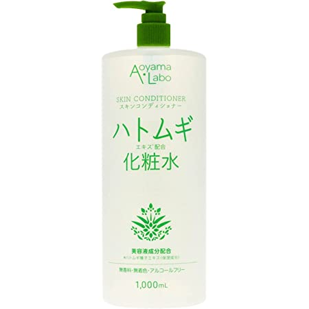 [Amazon限定ブランド] Aoyama・Labo(アオヤマラボ) ハトムギ エキス 配合 化粧水 1000ml