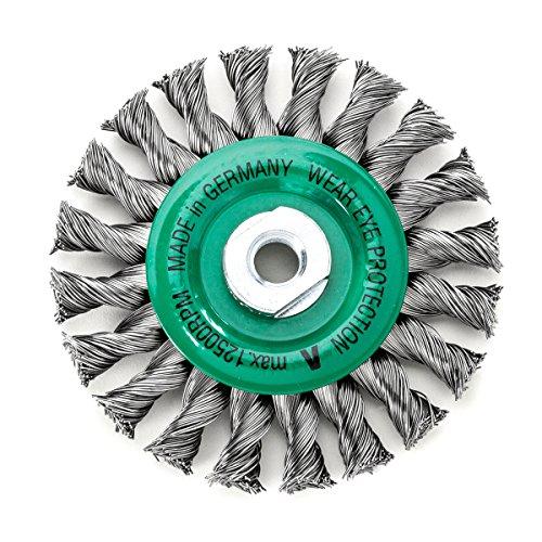 Rond Tressé DRM 115 x 14 mm en acier brut 20 Z rouille lisse 0,50 m 14 mm Poids