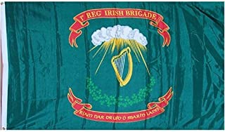 Best NationalCountryFlags New Large 3x5 69th Irish Infantry Brigade Flag Flags Review