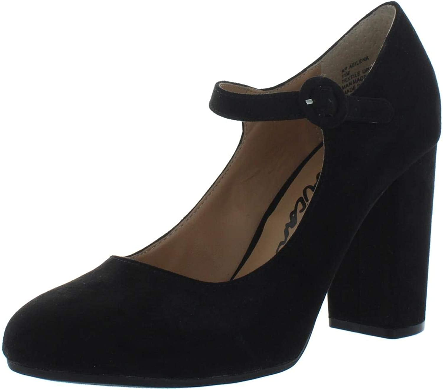 American Rag Womens Eilena Faux Suede Mary Jane Heels Black 11 Medium (B,M)