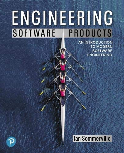 Compare Textbook Prices for Engineering Software Products: An Introduction to Modern Software Engineering 1 Edition ISBN 9780135210642 by Sommerville, Ian