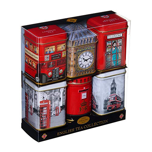 New English Teas Mini English Tea 6 Selection 150 g [Grocery]