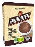 Van Houten Cacao Façon Bistro Boîte Bio 250 G - Lot De 2