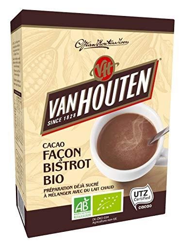 professionnel comparateur Van Houten Cocoa Bistro Style Bio Box 250g – Paquet de 2 choix