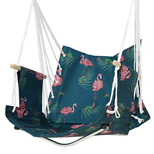 JIEIIFAFH Stylish Leisure Hammock College Single Dormitory Canvas Hanging Chair Indoor Adult Student Lazy Swing