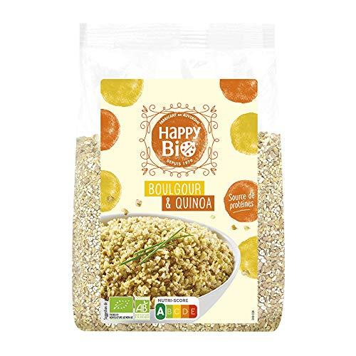 Happy Bio Boulgour/Quinoa Bio Céréale 500 g