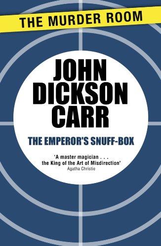 The Emperor's Snuff-Box (Murder Room Book 628) (English Edition)