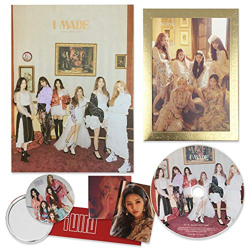 (G)I-DLE 2nd Mini Album - [ I Made ] CD + Booklet + PhotoCard + Stickers + FREE GIFT / K-pop Sealed