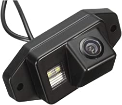 Misayaee Rear View Back Up Reverse Parking Camera in License Plate Lighting Night Version (NTSC) for Toyota FJ Cruiser 2007~2011/Toyota/Land/Cruiser 120 Series Prado 2007-2010 2700 4000